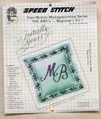 MG1K  Speed Stitch Monogramming Kit